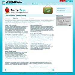 Standards-Based Grading and Learning Management System