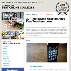 20 Time-Saving Grading Apps That Teachers Love