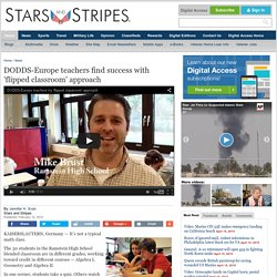 DODDS-Europe teachers find success with 'flipped classroom' approach
