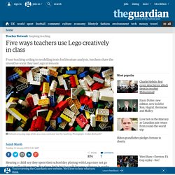 Five ways teachers use Lego creatively in class