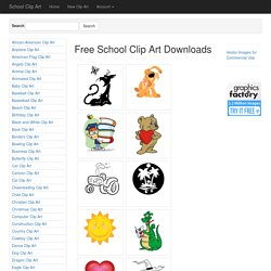 School Clip Art for Teachers and Kids - Clipart for educational