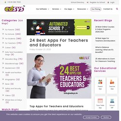 24 Best Apps For Teachers and Educators