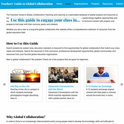 Learn - Teachers' Guide to Global Collaboration