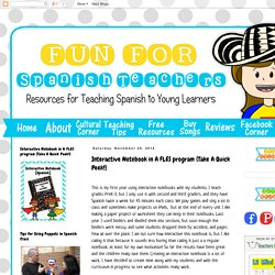 Interactive Notebook in A FLES program {Take A Quick Peek!}