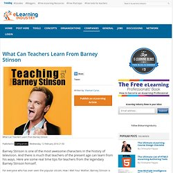 What Can Teachers Learn From Barney Stinson