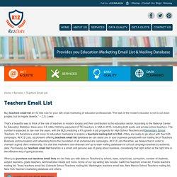 Teachers Mailing List