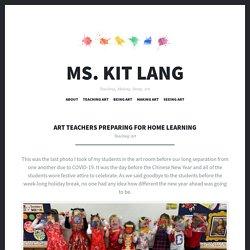 Art - Home Learning