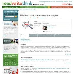 No Teachers Allowed: Student-Led Book Clubs Using QAR