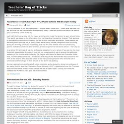 Teachers' Bag of Tricks