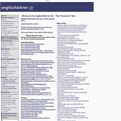 The Teachers' Site - englischlehrer.de