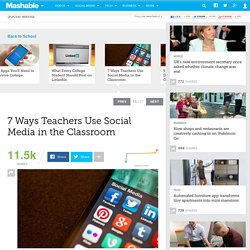 7 Ways Teachers Use Social Media in the Classroom