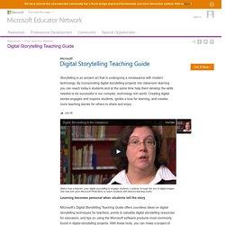Digital Storytelling Teaching Guide