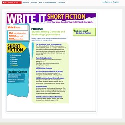 Scholastic Writing Competition 7-12