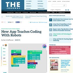New App Teaches Coding With Robots
