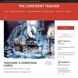 Teaching 'A Christmas Carol'