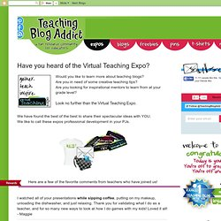 Have you heard of the Virtual Teaching Expo?