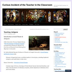 Curious Incident of the Teacher in the Classroom