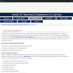 Center for Teaching and Assessment of Learning