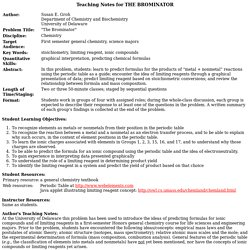 Teaching Notes for the Brominator problem