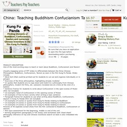 China: Teaching Buddhism Confucianism Taoism... by Greg's Goods - Making History Fun