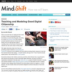 Teaching and Modeling Good Digital Citizenship