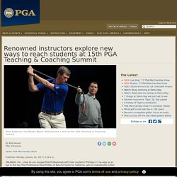 15th PGA Teaching & Coaching Summit finale