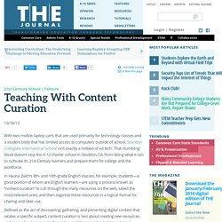 Teaching With Content Curation