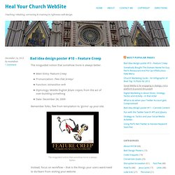 Heal Your Church WebSite