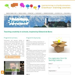 Erasmus+ training - Erasmus+ training