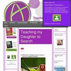 Teaching my Daughter to Search - Teacher Tech