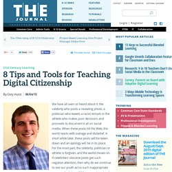 8 Tips and Tools for Teaching Digital Citizenship