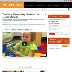 Teaching Elementary Students the Magic of Math