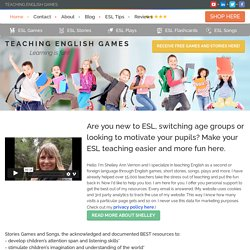Teaching English Games