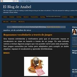 El Blog de Anabel: Teaching English Methodology