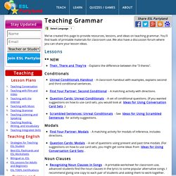 Teaching ESL Grammar