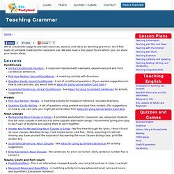 Teaching ESL Grammar