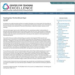 Center for Teaching Excellence – University of Virginia