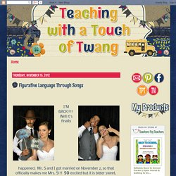 Teaching with a Touch of Twang: Figurative Language Through Songs