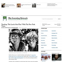 Teaching 'The Lord of the Flies' With The New York Times