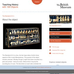 Teaching History with 100 Objects - The Standard of Ur