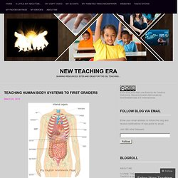 Teaching Human Body Systems to first graders