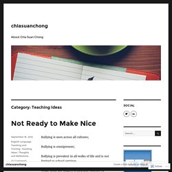 Teaching Ideas – chiasuanchong