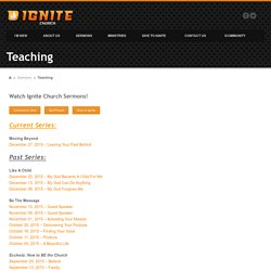 Teaching -Ignite Church