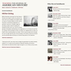 Teaching the Journal of American History
