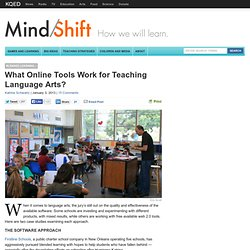 What Online Tools Work for Teaching Language Arts?