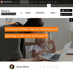 Teaching and Learning in the Time of Covid-19