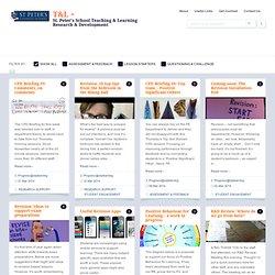 St. Peter's School Teaching & Learning Research & Development