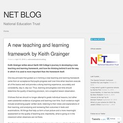 A new teaching and learning framework by Keith Grainger