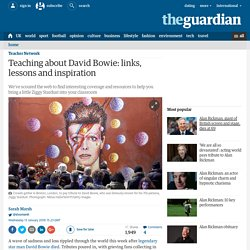 Teaching about David Bowie: links, lessons and inspiration