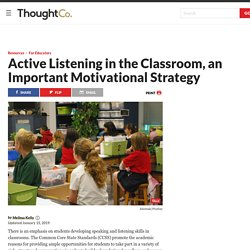 Teaching Active Listening in the Classroom